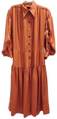 Eudon Choi Orange Dress for Women