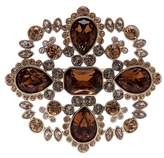 Givenchy Crystal Accented Cluster Brooch