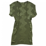 Balenciaga Green Silk Dress