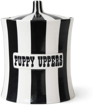 Jonathan Adler Vice Puppy Uppers Canister