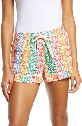 ban.do Floral Print Leisure Shorts