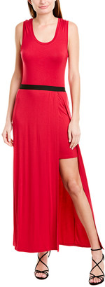 BCBGMAXAZRIA Twofer Maxi Dress