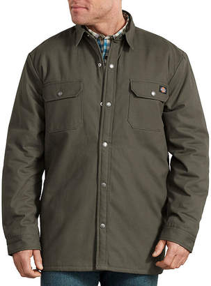 Dickies Plaid Lined Shirt Jacket