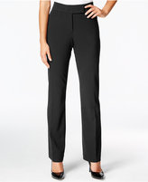JM Collection Petite Extend-Tab Curvy-Fit Pants, Only at Macy's
