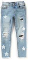 Miss Me Girls Big Girls 7-16 Star-Print Camo Detailed Jeans