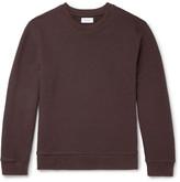 Fanmail Loopback Organic Cotton-jersey Sweatshirt - Brown