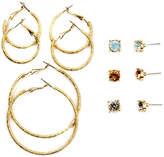 Arizona 12-pc. Multi Color Earring Sets