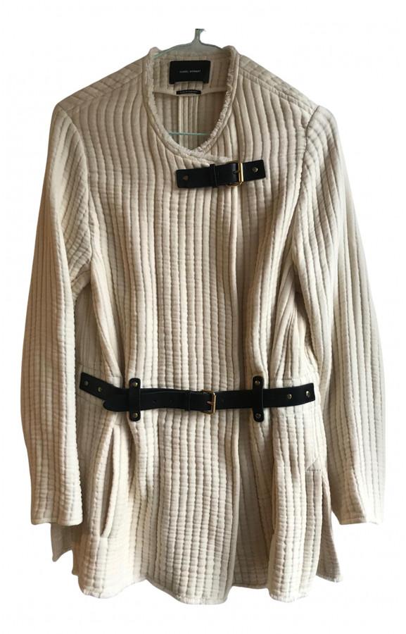 Thumbnail for your product : Isabel Marant Ecru Cotton Coats