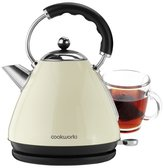 Cookworks Stainless Steel Kettle - Almond