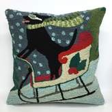 Liora Manné Sledding Dog Throw Pillow