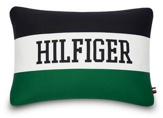 "Tommy Hilfiger Collegiate Cotton Indoor / Outdoor 15"" Lumbar Pillow Tommy"