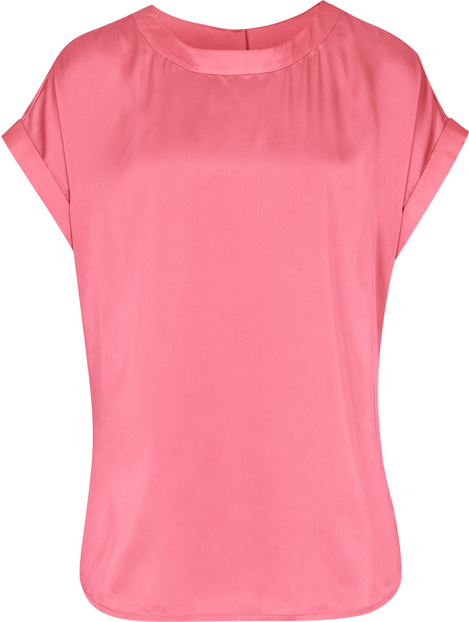 Reiss Ellie T-SHIRT WITH BUTTON BACK