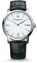 Baume & Mercier Classima 8485 Stainless Steel & Alligator Strap Watch