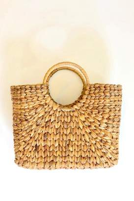 The Winding Road Market Basket Tote