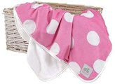 Just Born Valboa Blanket, Pink Dots by