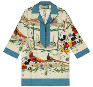 Gucci Disney x silk shirt