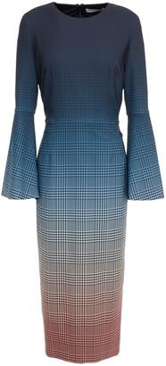 Mary Katrantzou Sunday Degrade Crepe Dress