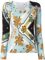 Etro floral print blouse - women - Silk/Spandex/Elastane - 40