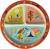 SugarBooger Happy Camper Divided Suction Plate