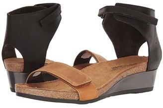 Naot Footwear Prophecy (Oily Dune Nubuck/Oily Coal Nubuck) Women's Shoes