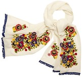 Tory Burch Avalon Embellished Scarf
