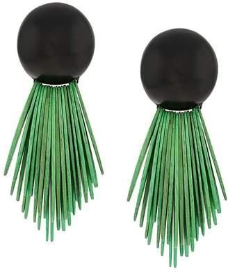 Monies Jewellery oversized clip earrings