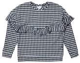 Burton Mens **Girls Gingham Frill Sweatshirt (5 - 12 years)