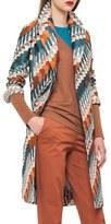 Akris Women's Jockey Jacquard Coat