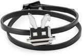 McQ by Alexander McQueen Embellished Leather Bracelet
