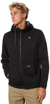 Hurley Heat Therma Fit Mens Zip Fleece Black