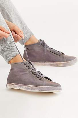 Free People Fp Collection River Run Distressed Sneakers by FP Collection at