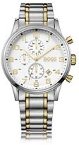 Hugo Boss 1513236 Chronograph Stainless Steel Gold-Plated Watch One Size Assorted-Pre-Pack