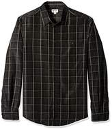 Haggar Men's big-tall Men's Big&tall Long Sleeve Microfiber Woven Shirt