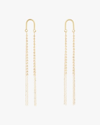 Poppy Finch Arch Short Shimmer Earrings