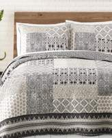 Jessica Simpson Ebony & Ivory Cotton King Quilt