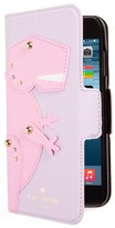 Kate Spade Dino Applique Iphone 7 Folio - Pink