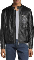Slate & Stone Scott Leather Bomber Jacket