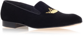 Church Sovereign Crown Slipper In Black