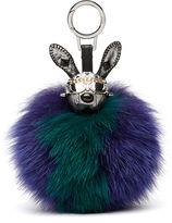 MCM Rabbit Fur Charm