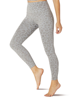 Beyond Yoga Leopard-Print High-Waist Midi Leggings