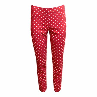 Robell Red Trouser Bella 51560 54570 40 14 Red
