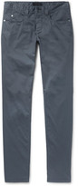 Loro Piana Madison Slim-Fit Stretch-Cotton Trousers
