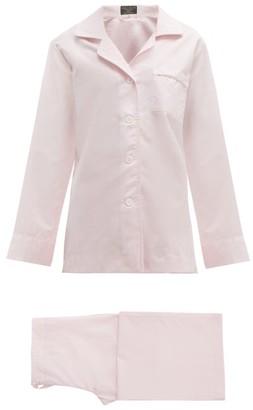 Emma Willis Zephirlino Cotton-blend Pyjamas - Womens - Pink