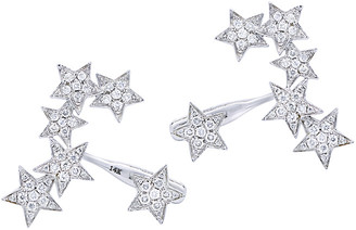 Diana M Fine Jewelry 14K 0.80 Ct. Tw. Diamond Star Earrings