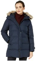 Lauren Ralph Lauren Horizontal Quilted Puffer (Navy) Women's Clothing