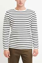 Forever 21 Stripe-Patterned Cotton Tee