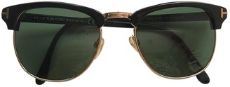 Tom Ford Green Metal Sunglasses