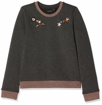 Ikks Junior Girl's Sweat Molleton Tetes De Chevaux Brodes Sweatshirt