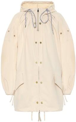Moncler Genius 2 1952 Amaranth hooded coat