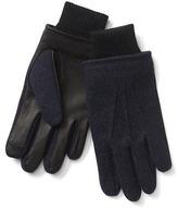 Gap Wool leather tech gloves
